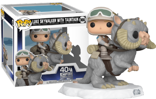 Funko Pop! Vinyl Star Wars Empire Strikes Back 40th Anniversary Luke Skywalker with Tauntaun